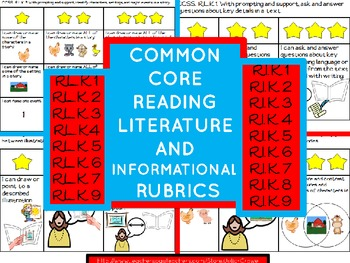 Reading Rubrics  Common Core Literature AND Informational Standards