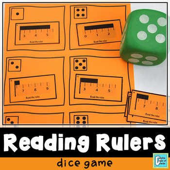 Reading Rulers Roll & Play Dice Game