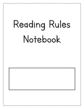 Reading Rules Notebook