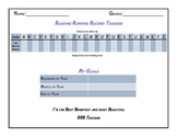 Reading Running Record Achievement Tracker