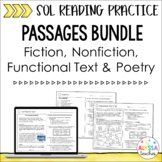 Reading SOL Passages Bundle 2 | SOL 4.4, 4.5, 4.6