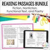 Reading SOL Practice Worksheets Bundle (SOL 4.4, 4.5 & 4.6)
