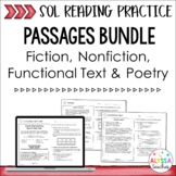 Reading SOL Passages Bundle (SOL 4.4, 4.5, 4.6) Print & Digital