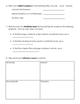 Reading SOL Test Study Guide Review 1