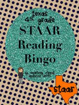 STAAR Reading Bingo (4th Grade) Test Prep