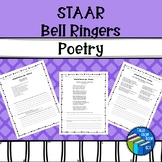 STAAR like Reading Poetry Warm Ups - Middle School