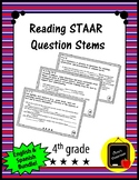 Reading STAAR Question Stems 2018 *English & Spanish Bundle*
