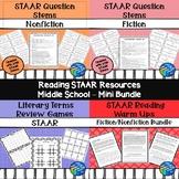 STAAR Reading Resources - Middle School - Bundle