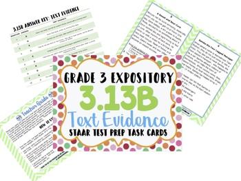Reading STAAR Test Prep Expository/Informational BUNDLE! 3rd Grade **UPDATED!**