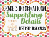 Reading STAAR Test Prep Main Idea Supporting Details 3.9Di