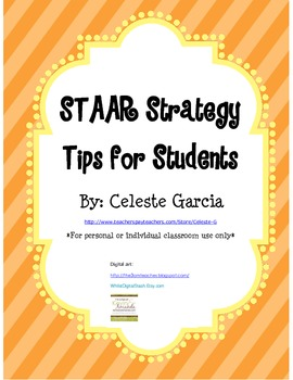 Reading STAAR Tips for Students