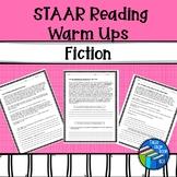 STAAR like Reading Bell Ringers - Fiction - Warm Ups