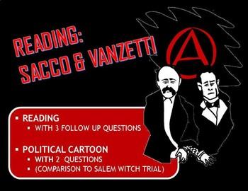 "Reading: ""Sacco and Vanzetti"""