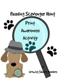 Reading Scavenger Hunt: A Print Awareness Activity