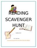 Reading Scavenger Hunt (summer reading, Daily 5, enrichmen