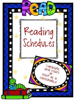 Reading Schedules and Bookmarks