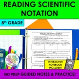 Reading Scientific Notation Notes