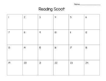 Reading Scoot