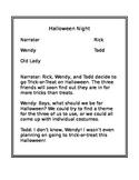 Reading Script- Halloween Night