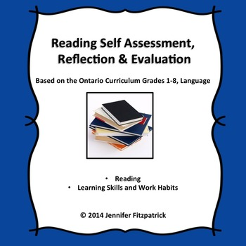 Reading Self-Assessment, Reflection and Evaluation