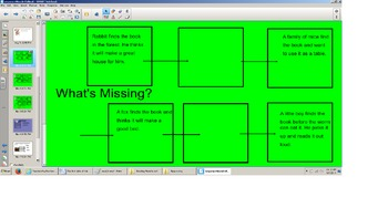 Reading Sequence Practice Smartboard, flow chart, directio