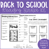 Interactive Reading Notebook Mini-Starter Kit