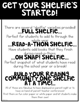 Reading Shelfies and Snapshots (Visual Reading Logs)
