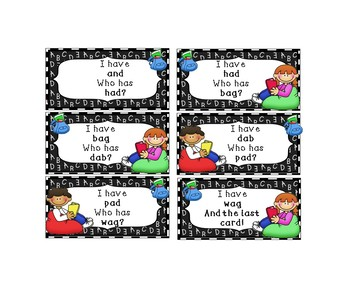 Reading Short A Phonics Activities and Centers