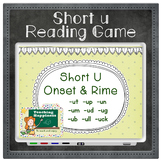Short Vowel U Word Family Words | Interactive Reading Game | Onset & Rime Style