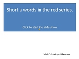 Reading---Short a words in the red series 3 choices (Set 2)