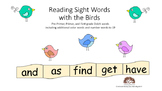 Reading Sight Words with the Birds