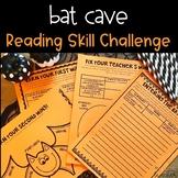 Reading Skill Bat Cave Challenge