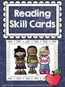 Reading Strategy and Skill Cards