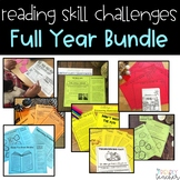 Reading Skill Challenges Full Year Bundle