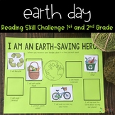 Distance Learning Reading Skill Earth Day Challenge / 1st