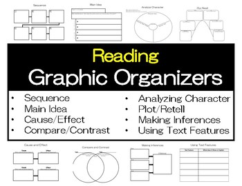 Reading Skill Graphic Organizers