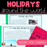 Reading Skill Holidays Around the World Challenge