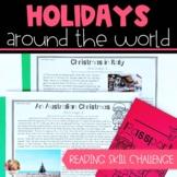 Reading Skill Holidays Around the World Challenge