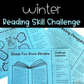 Reading Skill Winter Themed Challenge