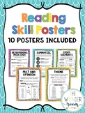 Reading Skill Posters - Reading Comprehension Posters - Re