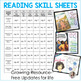 Reading Skill Sheets - Creative Graphic Organizers {The Bundle}