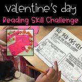 Reading Skill Valentine's Day Challenge