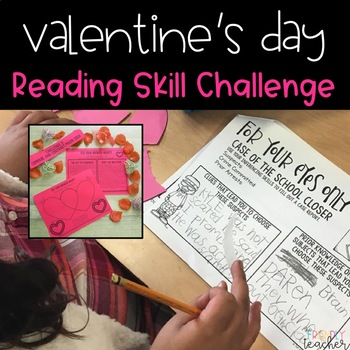 Reading Valentine's Day Activity