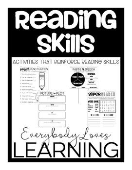 Reading Skills Activities