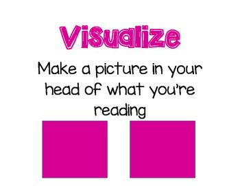 Reading Skills Anchor Charts