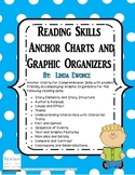 Reading Skills Anchor Charts and Graphic Organizers