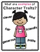 Reading Skills BUNDLE {Character Traits, Fact & Opinion, Main Idea}
