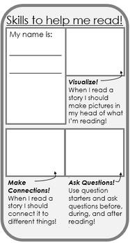 Reading Skills Bookmark