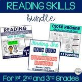 Reading Skills Bundle {Main Idea, Close Reading, Reading S