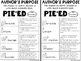 Reading Skills Bundle: Reference Sheets, Activity Sheets, Organizers, and MORE